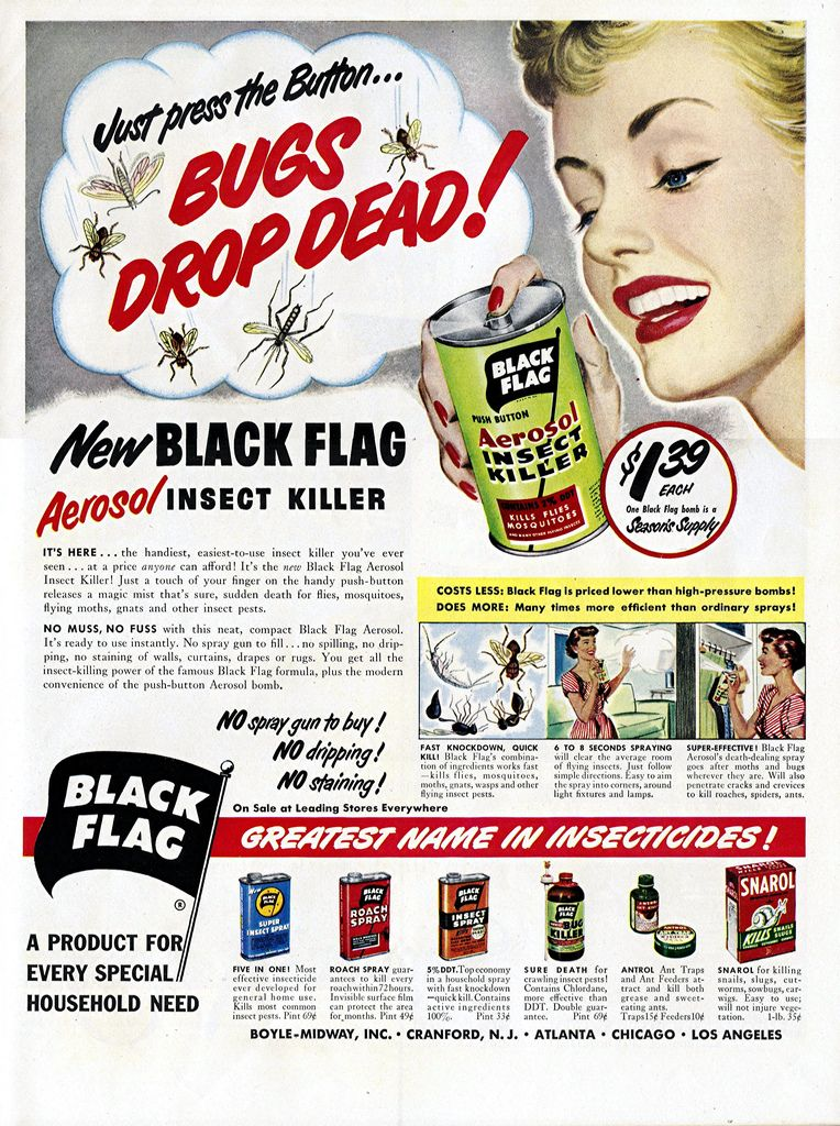 Vintage Ads August 1st, 2014 Vintage ads, Black flag