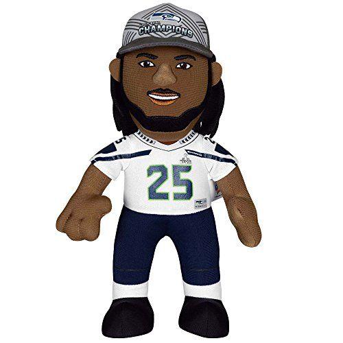 lowest price 6dc14 b2057 NFL Seattle Seahawks Richard Sherman Plush Doll Blue 10 ...