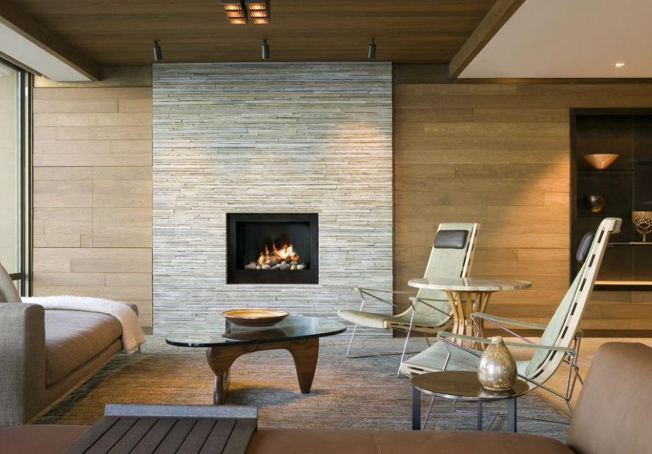 Mid Century Modern Fireplace Roomsbymail Modern Stone Fireplace