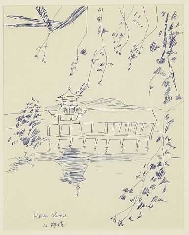 Heian Shrine Kyoto, Japan by Andy Warhol