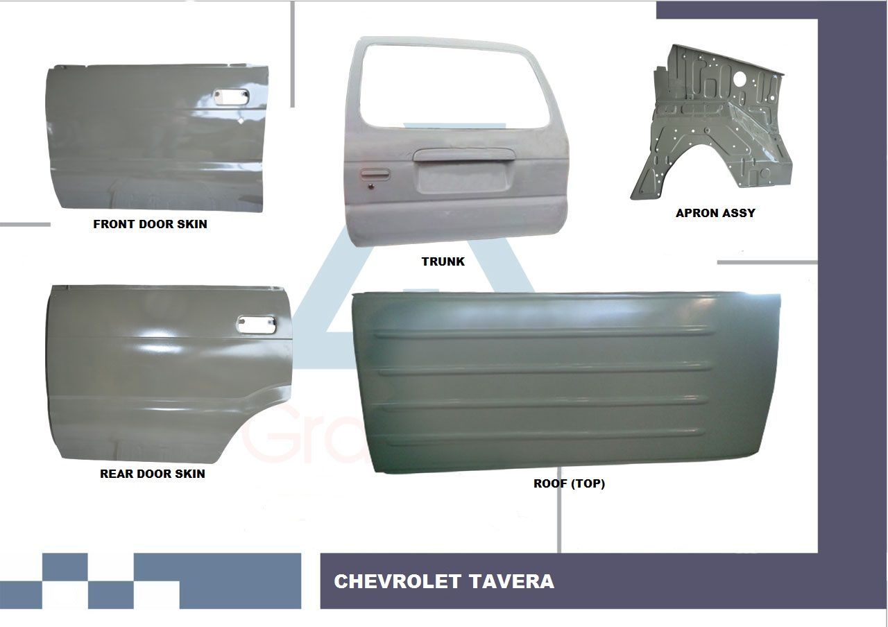 Chevrolet Tavera Body Parts, Chevrolet Tavera Body Panel, Chevrolet Tavera  Spare Parts, Chevrolet Replacement Parts, Chevrolet Roof, Chevrolet Tavera  Door, ...