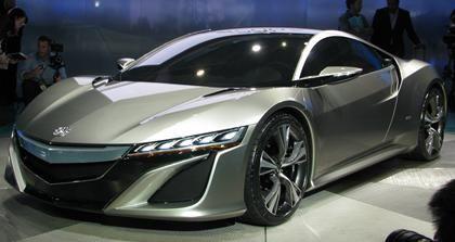 Honda Reveals Acura NSX Supercar    Made In Ohio
