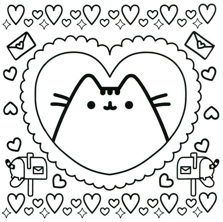 Pusheen Kawaii Para Colorear Buscar Con Google Dibujos Kawaii Para Imprimir Dibujos Bonitos Para Colorear Gatito Para Colorear
