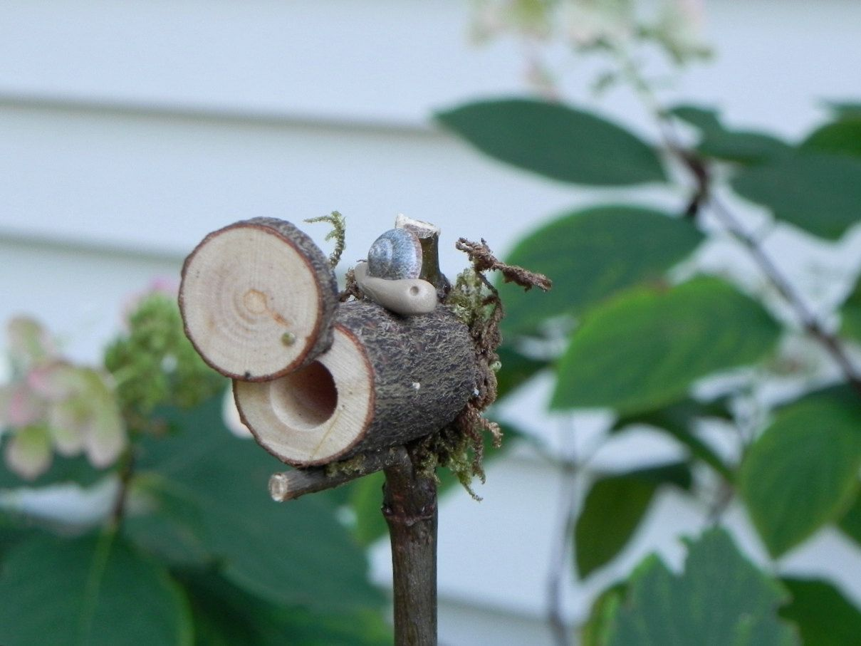 Miniature mailbox snail mail for fairy garden via for Little fairy mailbox