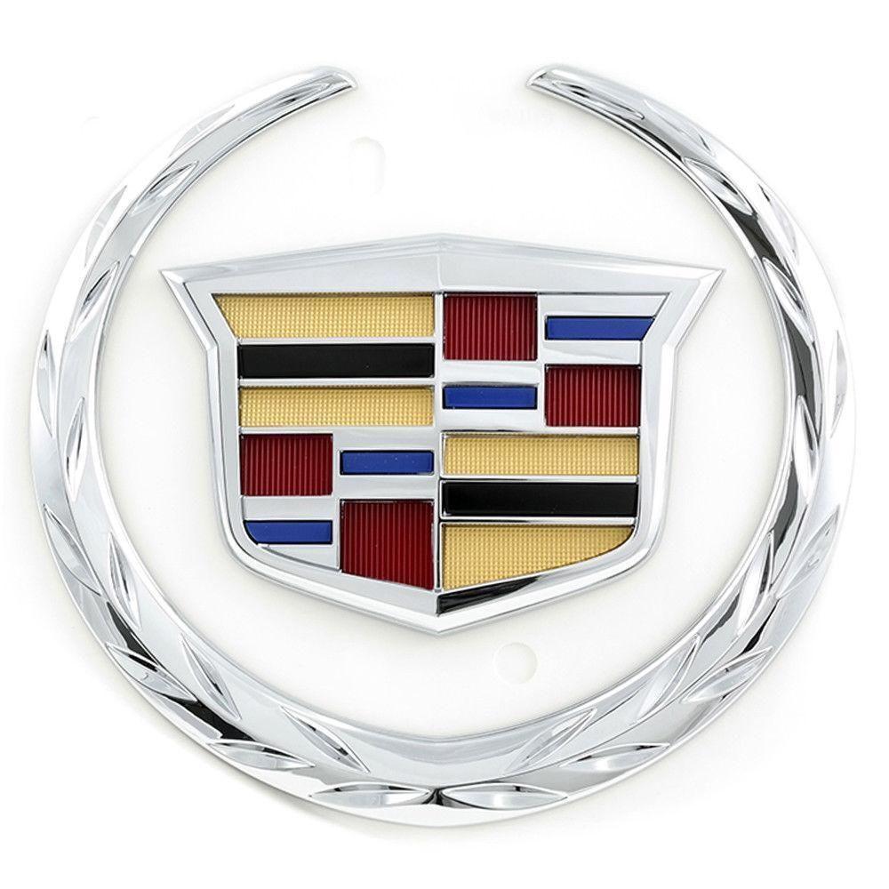 2015 2016 Escalade Rear Liftgate Hatch Crest And Wreath Emblem Badge New Auto Parts Genuine Car Truck Emblems Badge Escalade Esv