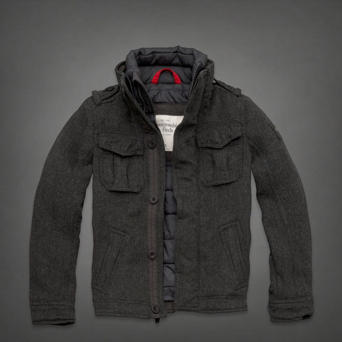 Buell Mountain Jacket By Abercrombie Fitch Mens Outfits Jackets Leather Outerwear [ 1200 x 1200 Pixel ]