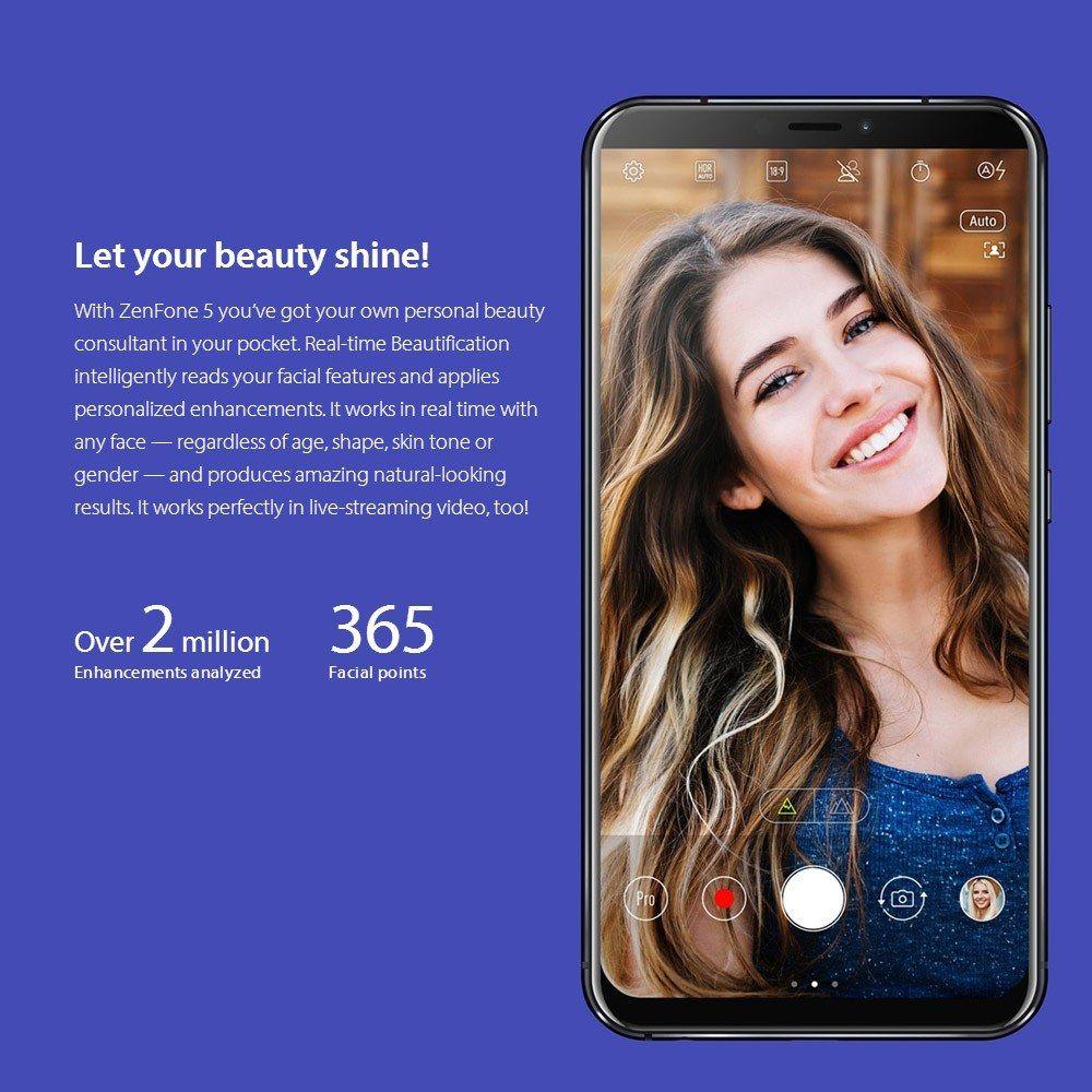 Global Version】ASUS Zenfone 5 ZE620KL 4G Smartphone Notch