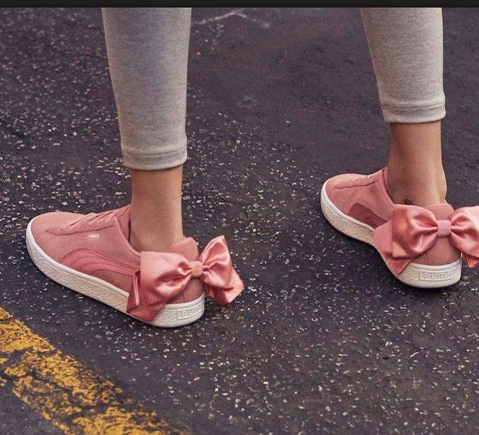 Fiel escucha Vástago  PUMA SUEDE BOW JR SHOES | Zapatos para niñas, Tenis puma, Zapatos
