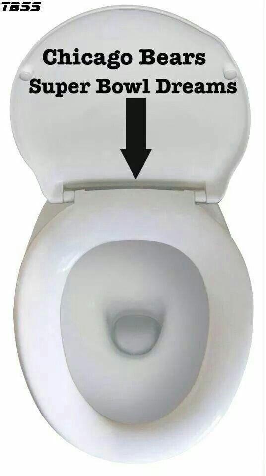 Chicago Bears Toilet Seat : chicago, bears, toilet, Chicago, Bears, Toilet, Image, Disbaywhoho, Design, Ideas