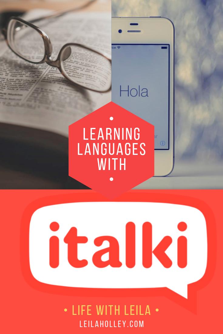 Learning a Language with italki Language exchange