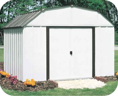 Lexington 10x8 Arrow Outdoor Storage Shed Kit Lx108 Backyard Storage Sheds Metal Storage Sheds Backyard Storage