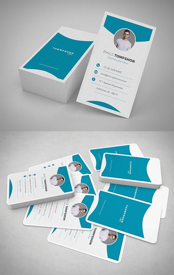 Modern Business Card Psd Templates 30 Print Ready Design Logo