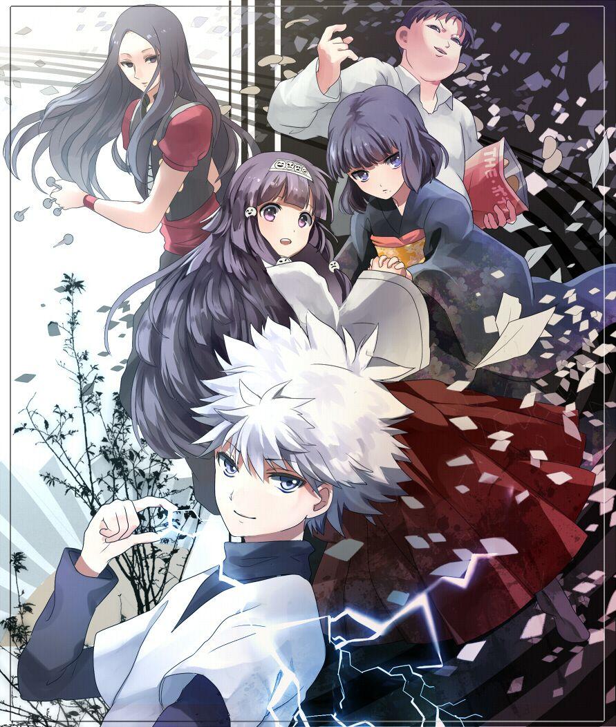 Zoldyck family hunter  anime haikyuu killua also die besten bilder von in rh pinterest