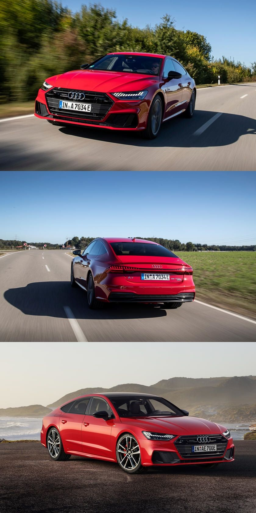 2021 Audi A7 Hybrid Arrives With Tesla Fighting Powertrain And It S More Powerful Than The Base V6 In 2020 Audi A7 Audi Tesla