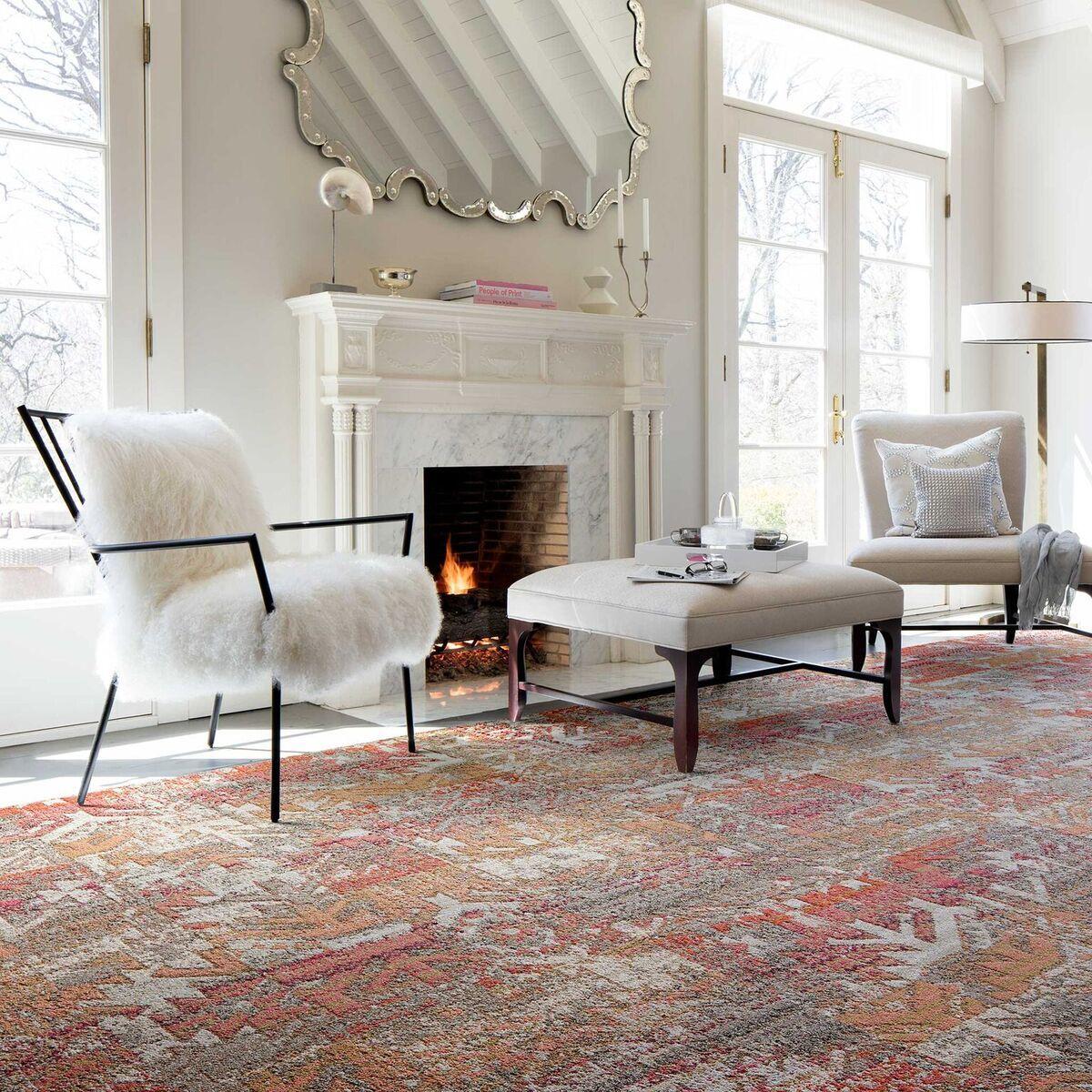 A Chic Room Deserves An Even Better Rug Myflor Rugs In Living Room Living Room Carpet Coastal Living Rooms