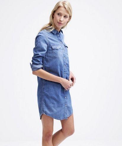 Levi S Iconic Sukienka Jeansowa Koszulowa Blue Fashyou Pl Fashion Jo Dress Clothes