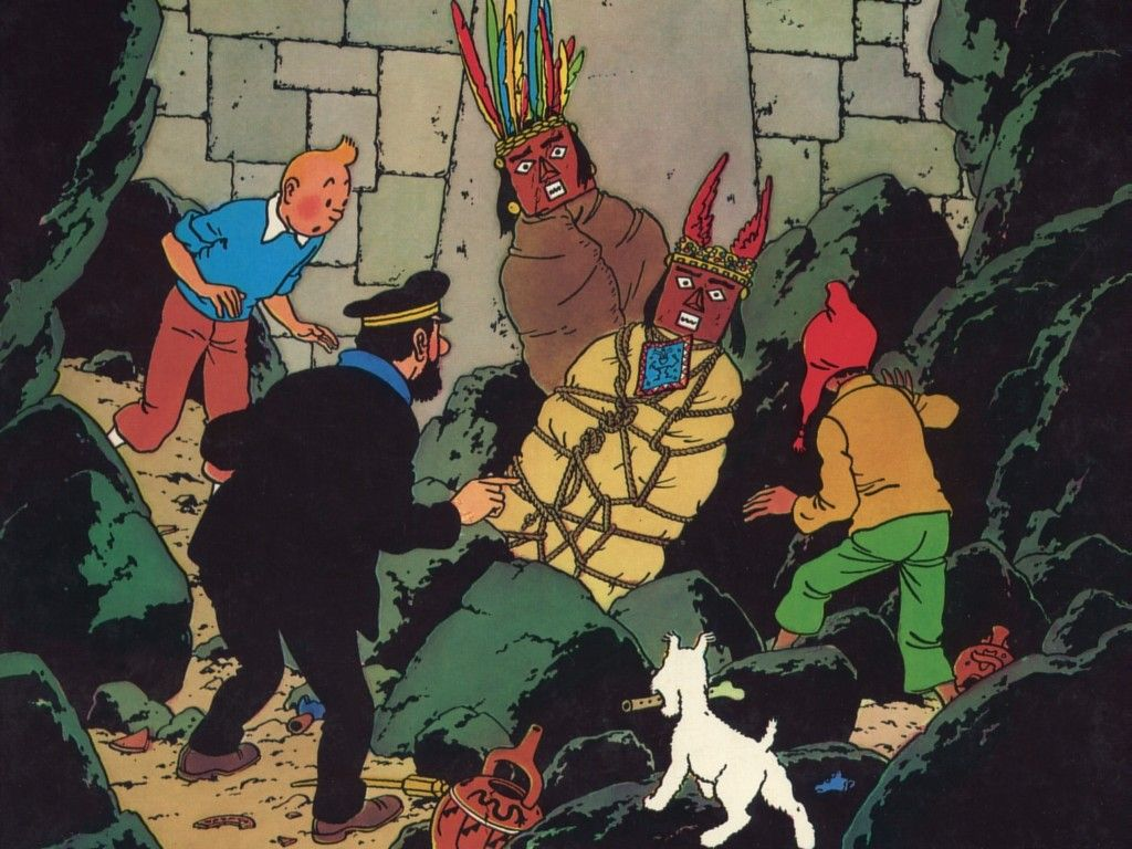 Prisoners of the sun | TINTIN in 2019 | Tintin, Comics ...