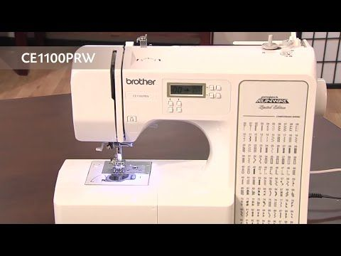 Brother CE40PRW Project Runway Limited Edition Sewing Machine Fascinating Brother Project Runway Sewing Machine Ce1100prw