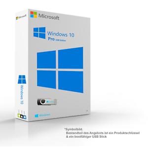 Microsoft Windows 10 Pro Original 32 64 Bit Key Installationsdaten Auf 8gb Usb In 2020 Microsoft Microsoft Windows Ms Office