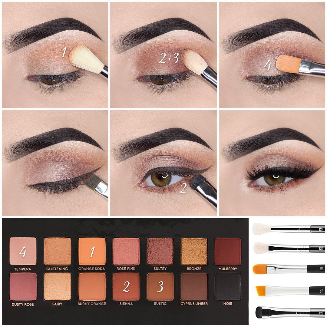 10 Latest Natural Eyeshadow Makeup Tutorials For Winter