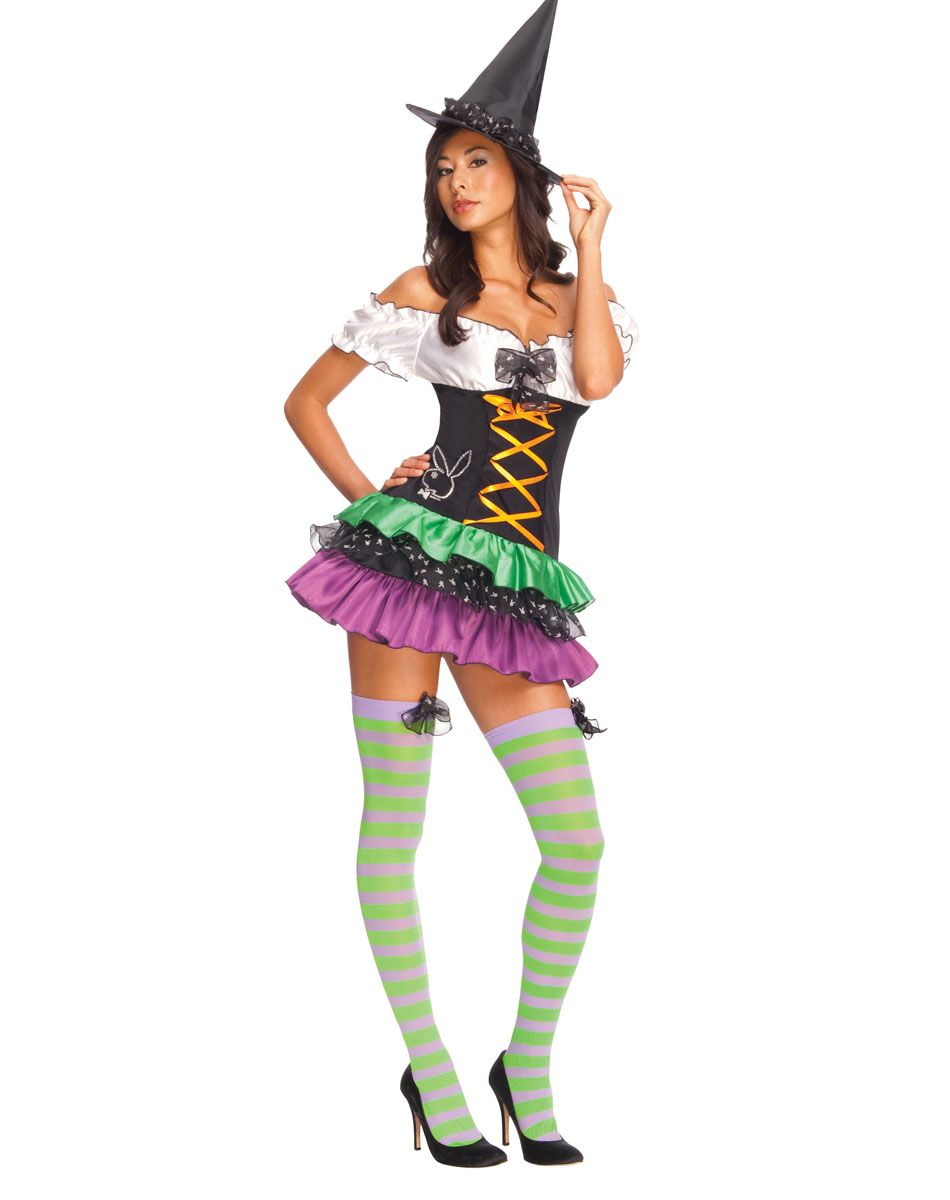 Playboy Witch Adult Womens Costume – Spirit Halloween | Ideas ...