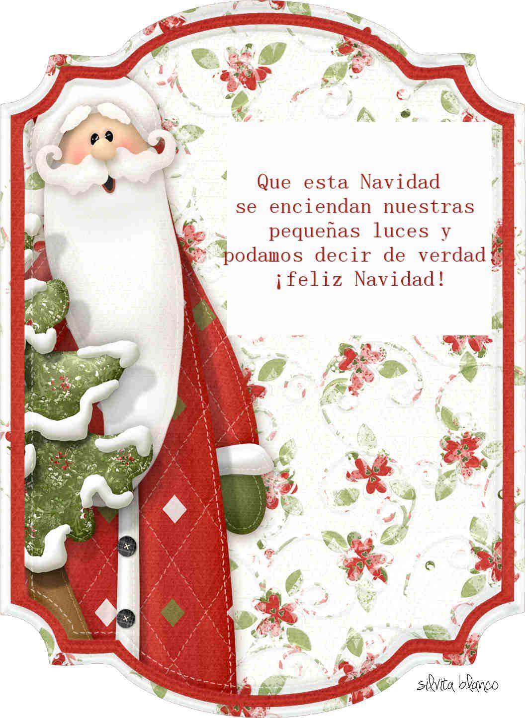 Frases de navidad navidad pinterest frases de - Tarjetas de navidad elegantes ...