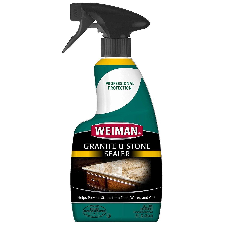 Weiman 82 Granite & Stone (Grey) Sealer, 12 Oz Granite