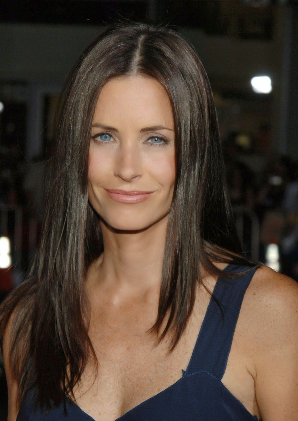 courteney cox long hairstyles | hair and makeup | pinterest | hair