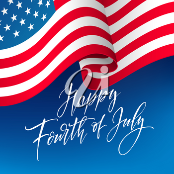 Fourth Of July Celebration Banner Greeting Card Design Happy Independence Day Of United States Of Greeting Card Design Happy Independence Day Fourth Of July