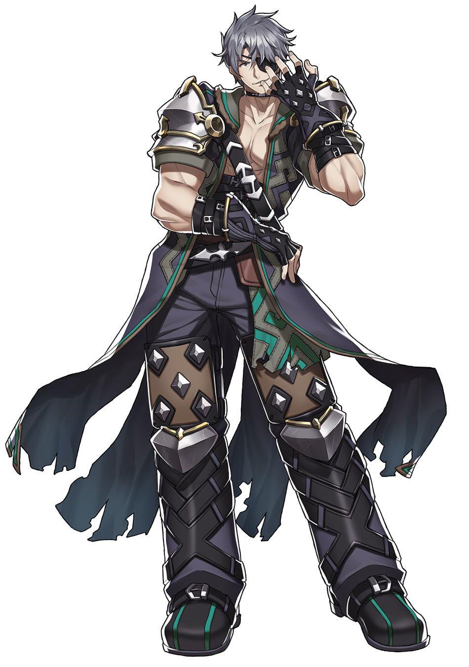 Zeke character art from Xenoblade Chronicles 2 art