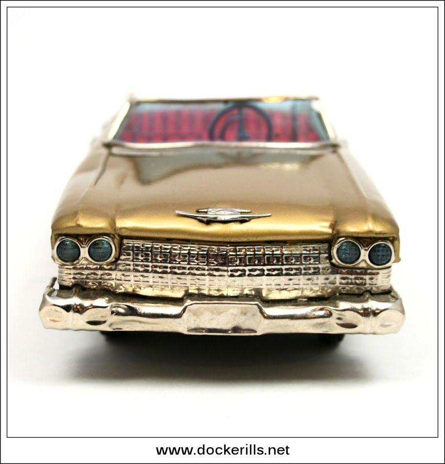 Cadillac Gear Shift Car Bandai Japan Photo 2 Of 4 Vintage Tin
