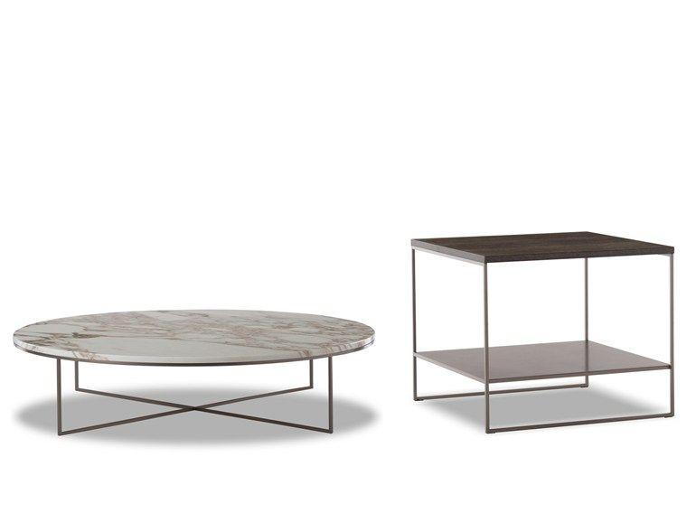 Coffee Table Calder Bronze Coffee Table By Minotti Bronze