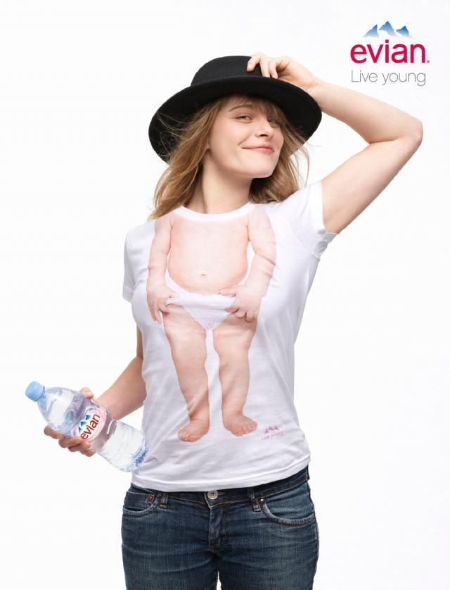 I'd rather have the tee than the branded bottle.... #Evian #Kenzo
