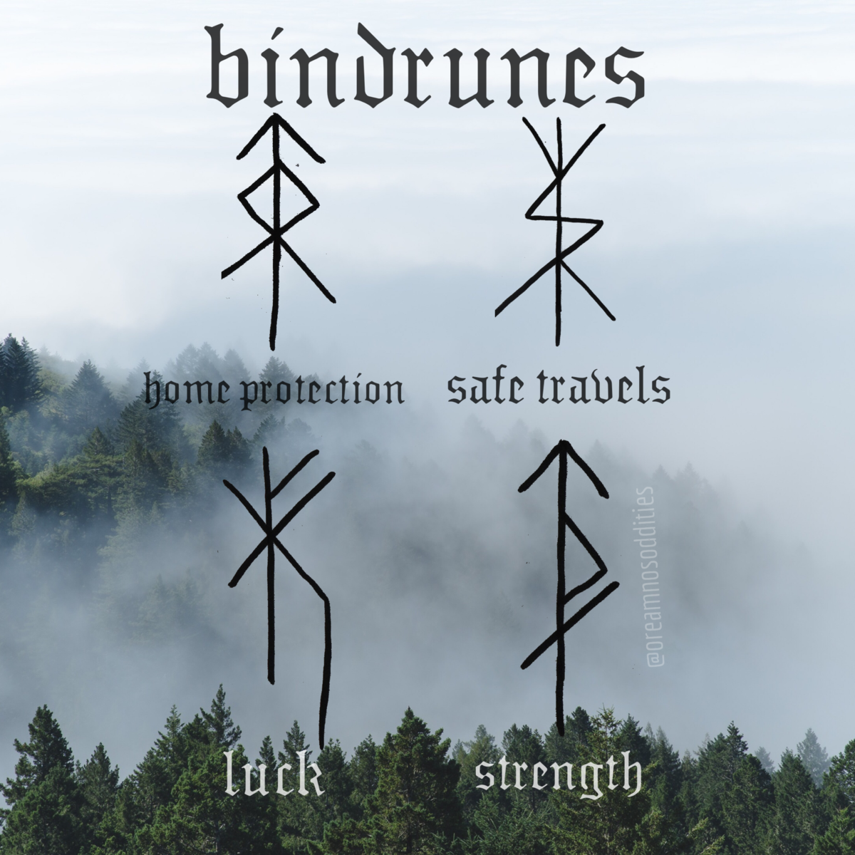How to make a bindrune Bindrunes can be used for anything in life you're looking to receive help with. Saving money, protecting your home, finding love or a new job. Whatever intent you have, a bindrune can exist for it. The materials you use will vary depending on how long you need the bindrune. For a one time ritual you can use paper or wood. For an extended use you can use wood, antler, clay or leather. For more permanent use, metal or rock. There's many other materials you can use but thes