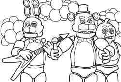 Pic2 405 Pintar Five Nights At Freddys Jpg 250 170 Desenhos