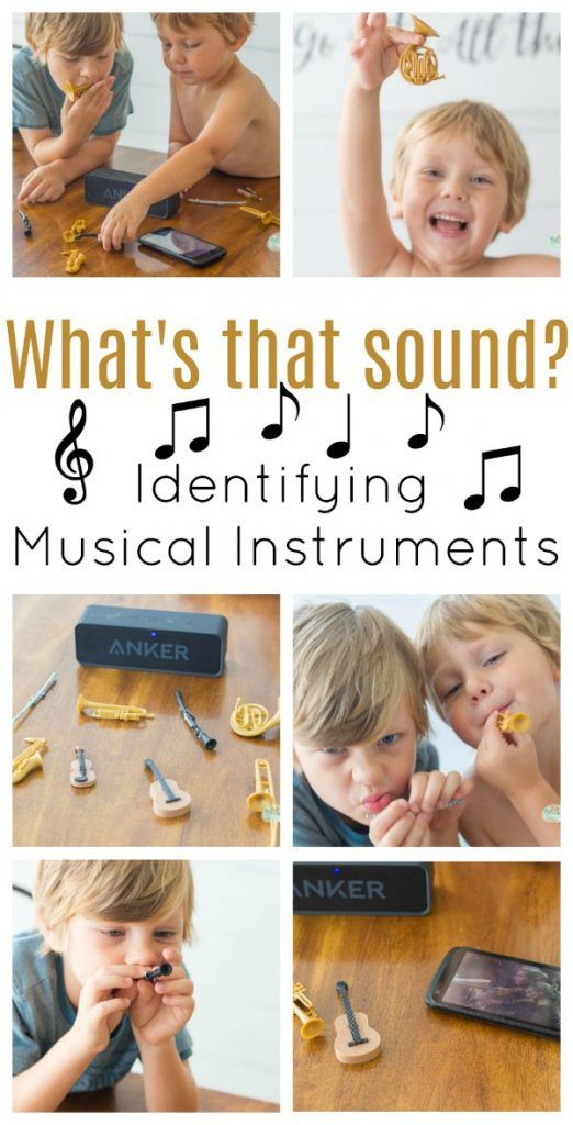 What's that Sound? Identifying Musical Instruments #musicalinstruments