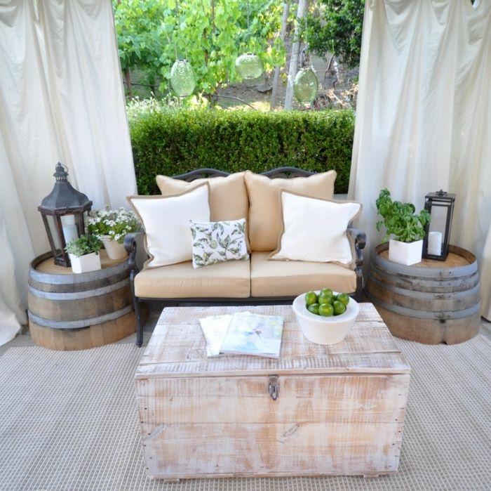 Die Deko im Outdoor-Bereich für vollsten Komfort im Freien ...
