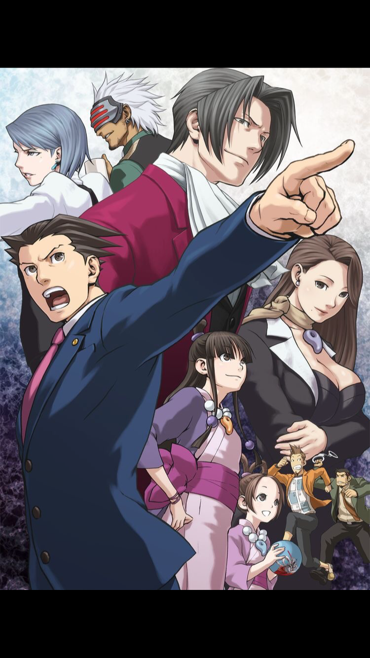 Pin By Shaylee A On Phoenix Wright Phoenix Wright Ace Anime