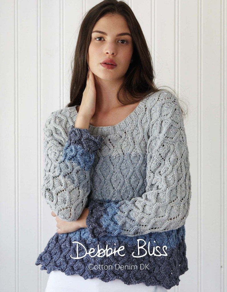 Cotton denim dk debbie bliss patterns designer yarns dream the debbie bliss cotton denim dk collection includes gorgeous denim inspired patterns knit with cotton denim dk yarn bankloansurffo Choice Image