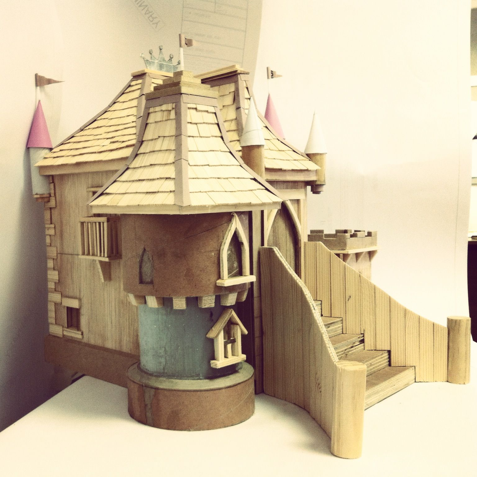 This Is The Model For Pretty Princess Castle Playhouse We Usually Build One For All Of Our Designs Play Houses Play House Castle Playhouse