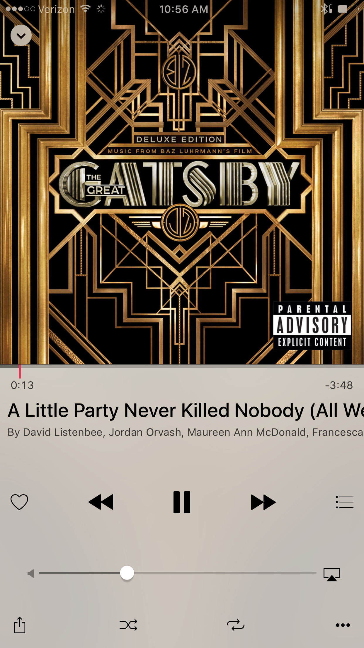 A little party won't kill anyone  The great Gatsby