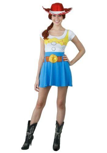 Ladies Sassy Jessie Costume Cowgirl Party Toy Story Disney Fancy Dress Hat