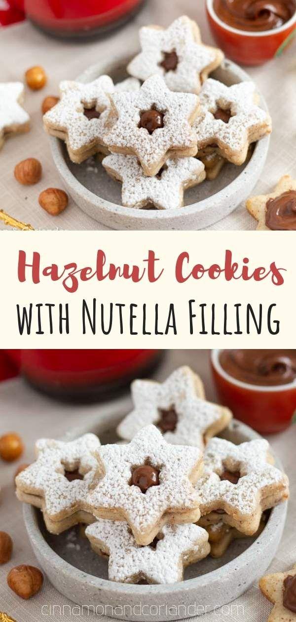 Photo of Nougat Taler – Heavenly nougat cookies