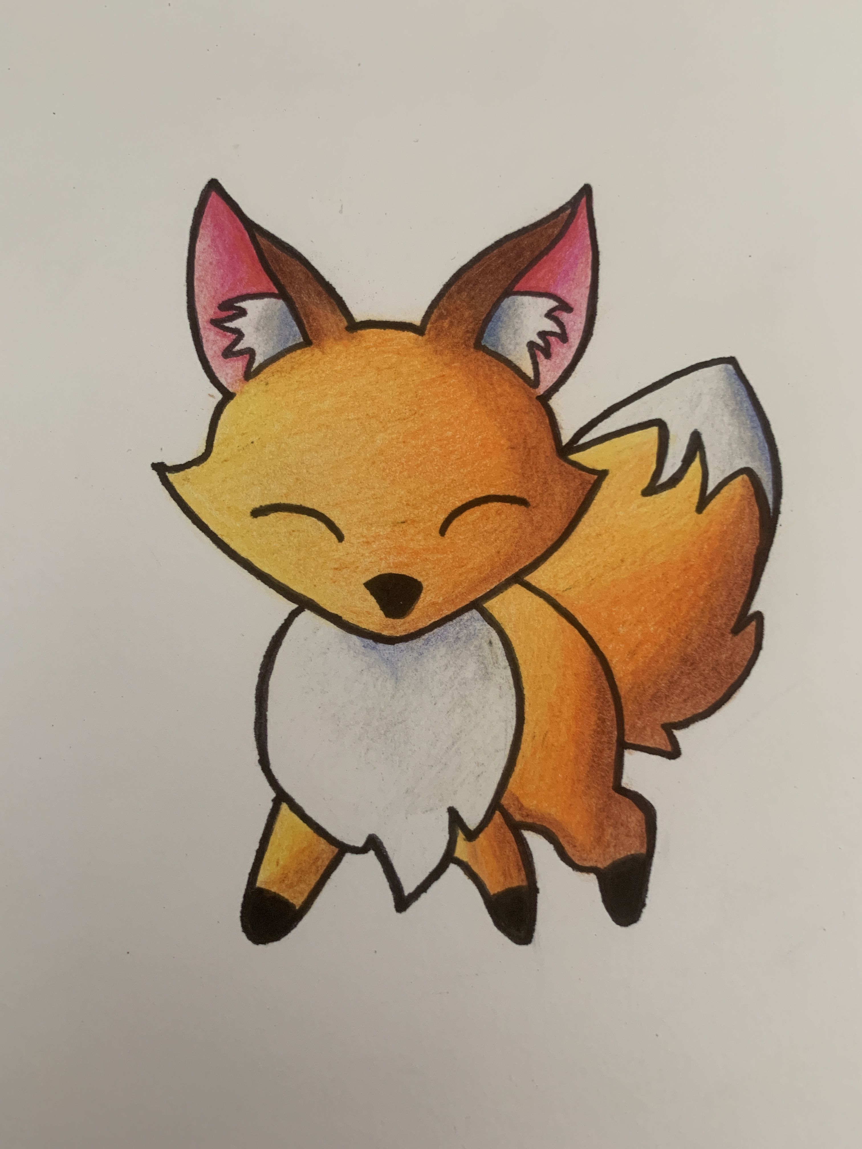 Renard Kawaii Dessin Kawaii Dessins Disney Dessin