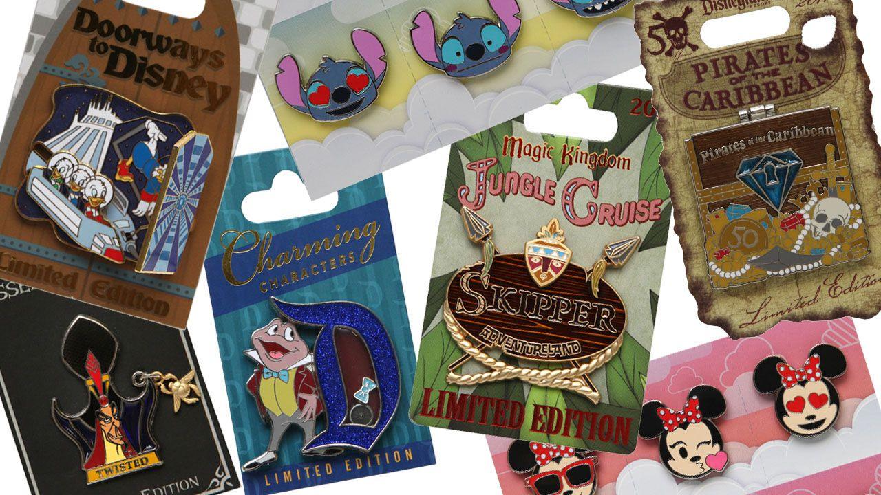 Disney Trading Pins at Walt Disney World