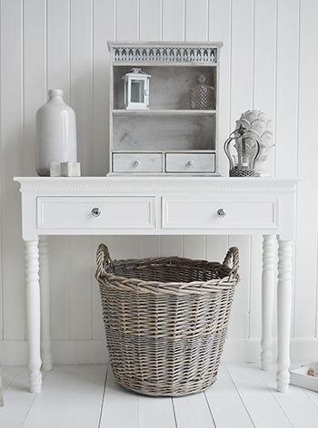 Pin de The White Lighthouse en White Console Hall and Sofa Tables ...
