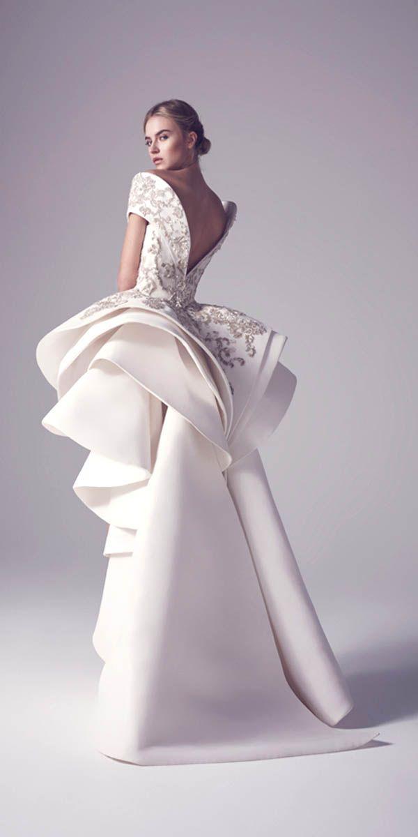 30 Totally Unique Fashion Forward Wedding Dresses   Unique fashion ...
