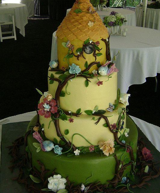 birdhouse   Cake, Food and Beautiful cakes
