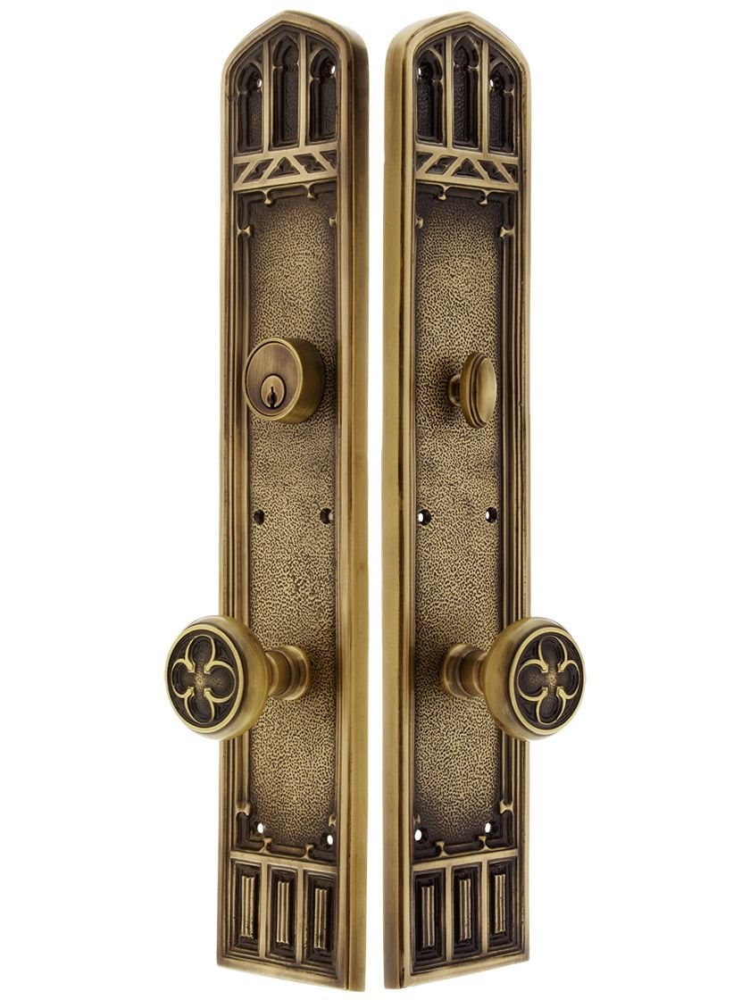 The Solid Oxford Vintage Door Knocker in Various Finishes