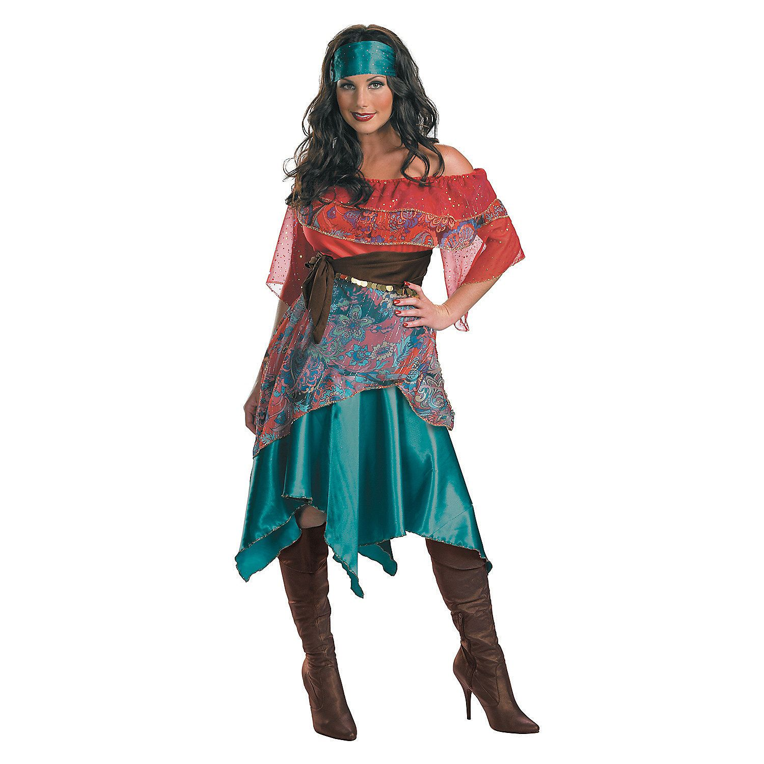 Let The Gypsy In You Run Free For Your Next Party Costume Idea With This Delightful Bohemian Women